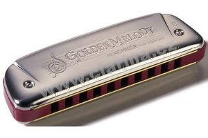 Hohner M542096 Golden Melody foukací harmonika 542/20 As Dur (Ab)